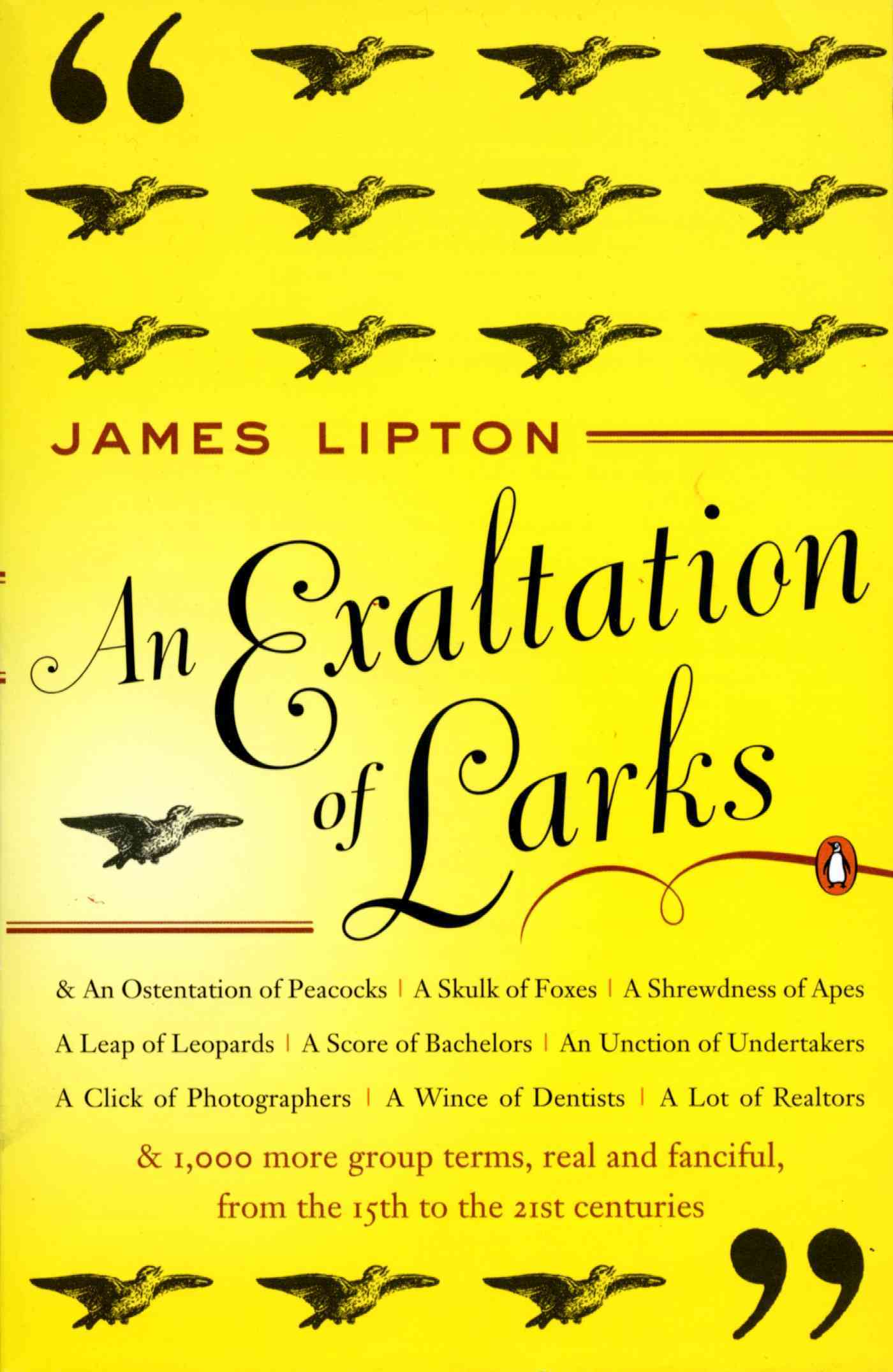 An Exaltation of Larks By Lipton, James